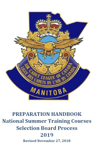 MANITOBA AIR CADET PROGRAM/Summer Training Selection